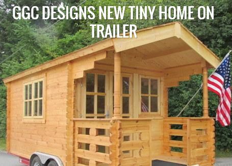 GGC DESIGNS NEW TINY HOME ON TRAILER | ly DIY TINY HOME CABIN ... on tiny art, tiny kit homes, tiny log homes, tiny custom homes, loft small house designs, tiny fashion, tiny portable homes, tiny house, tiny room design ideas, tiny compact homes, tiny homes with staircases, tiny books, tiny homes inside and outside, mini bungalow house plans designs, tiny modular homes, tiny interior design, small box type house designs, tiny bedroom, tiny plans, tiny prefab homes,