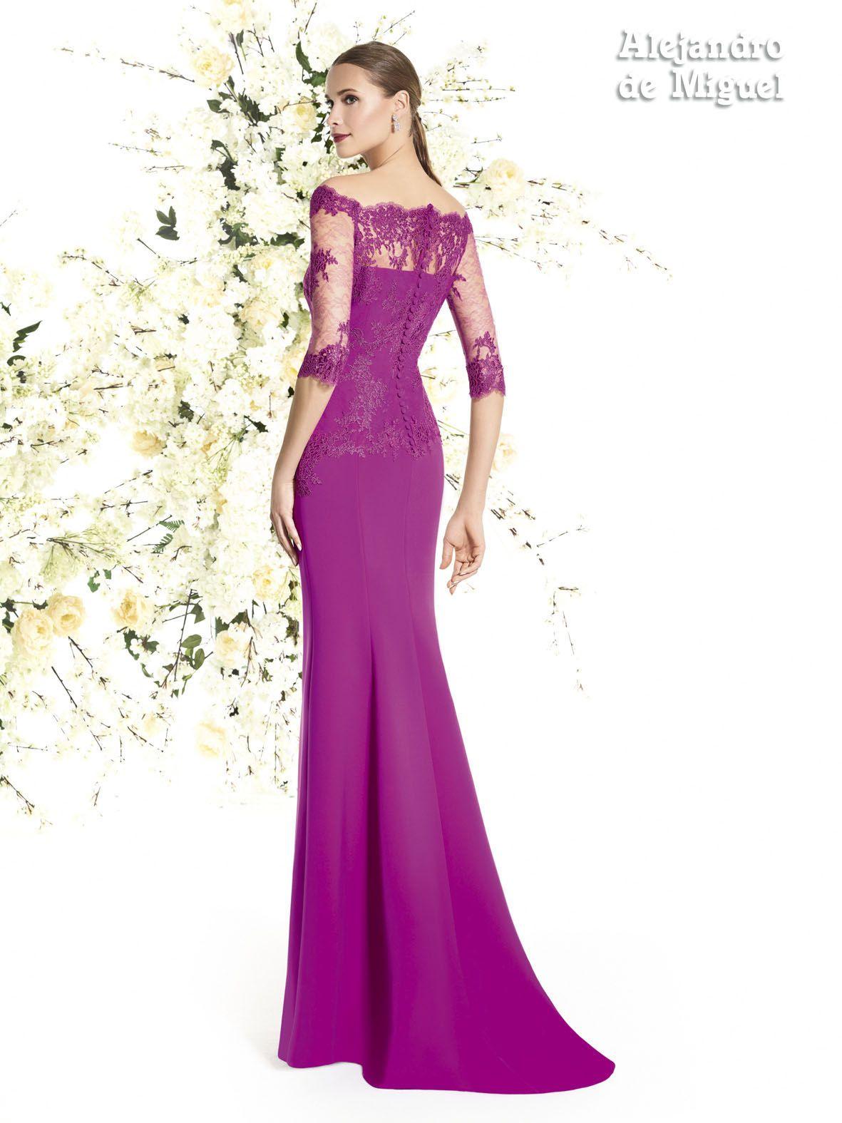 Alejandro de Miguel | Vestido Largo – mod. 825 | vestidos de fiesta ...