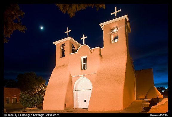 New mexico st francis of assisi a catholic basilica south of new mexico st francis of assisi a catholic basilica south of taos was founded in 1610 chapelschurchescathedrals pinterest churches publicscrutiny Gallery