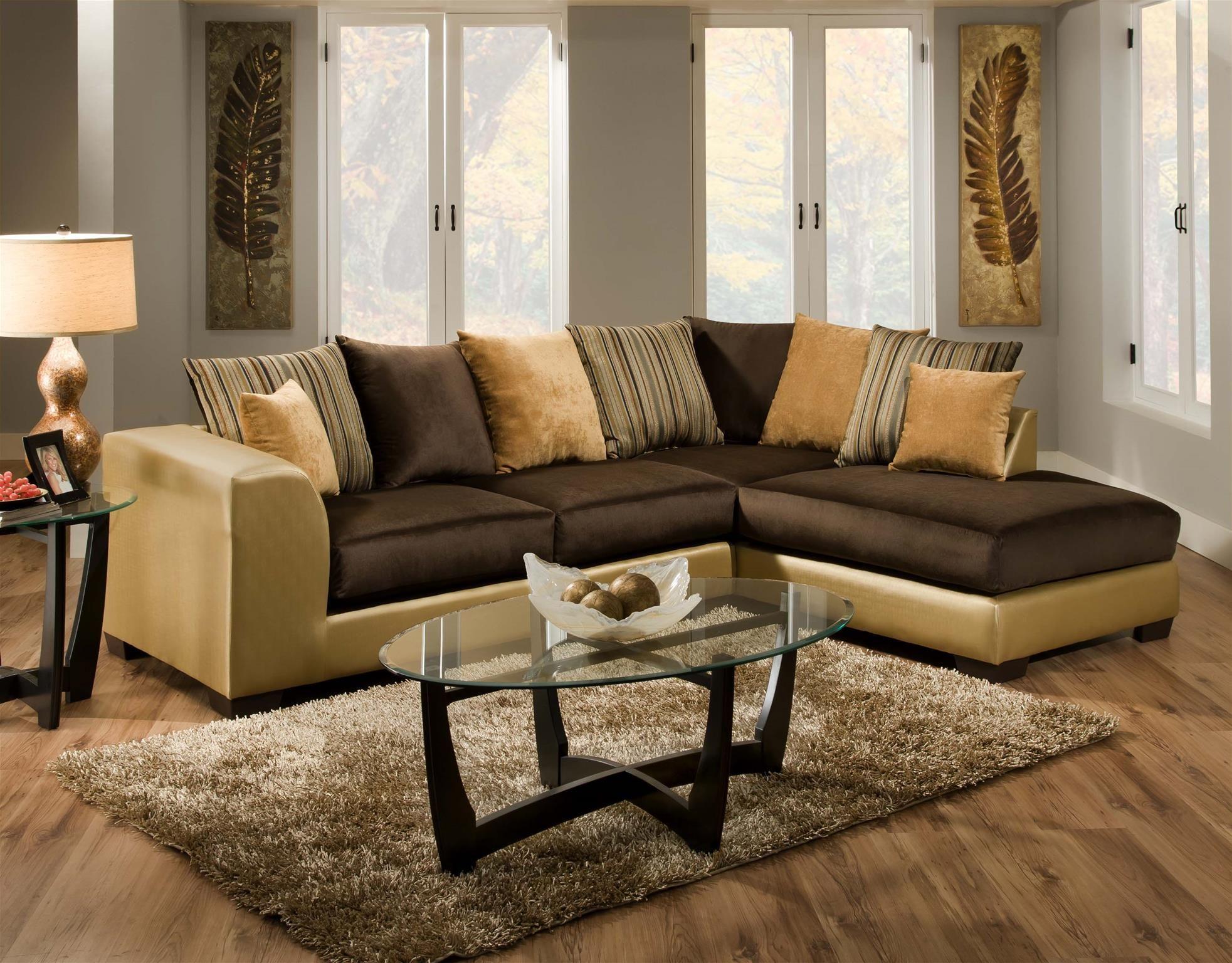 Room Delta Furniture 835 03 Gold Living Room