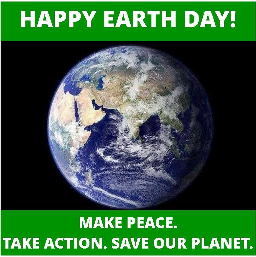 Earthday It S Up To Us To Make A Difference For The Future
