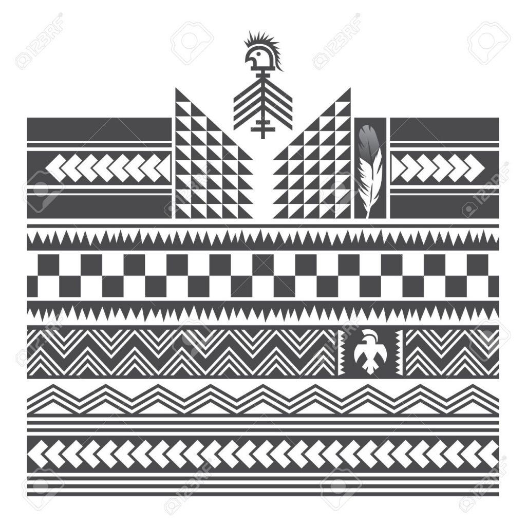 Native American Tribal Tattoo Native American Art Royalty Free Cliparts Vectors And Stock Tribal Art Tattoos Native American Art American Art