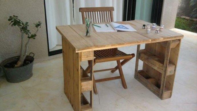 1001 Ideen Fur Schreibtisch Selber Bauen 21 Ideen Aus Paletten Schreibtisch Selber Bauen Paletten Tisch Schreibtisch Aus Paletten