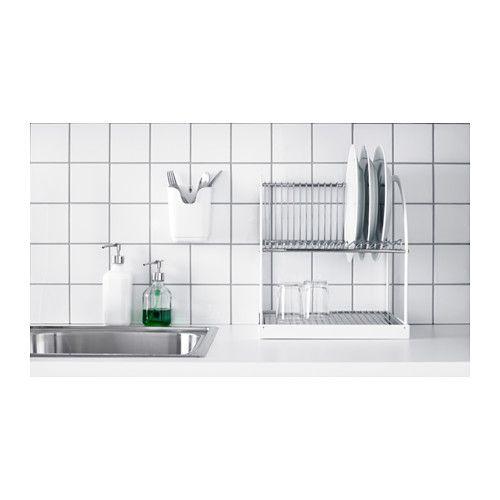 best ende diskst ll silverf rgad vit pinterest k k och inredning. Black Bedroom Furniture Sets. Home Design Ideas