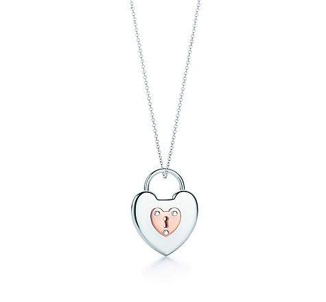Tiffany co item tiffany locks vintage heart lock pendant in tiffany co item tiffany locks vintage heart lock pendant in silver and aloadofball Gallery