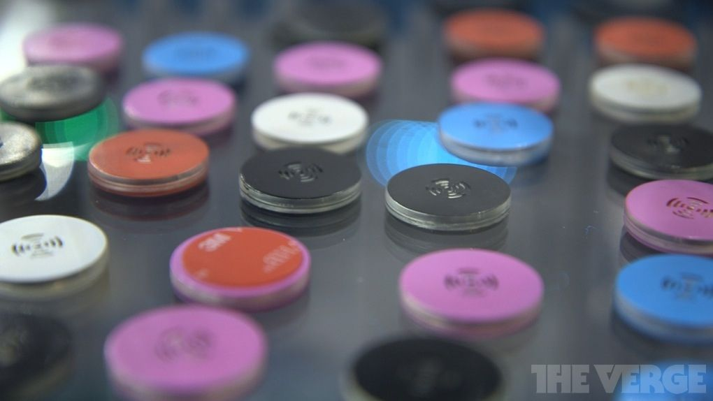 StickNFind Bluetooth stickers let you track any object with