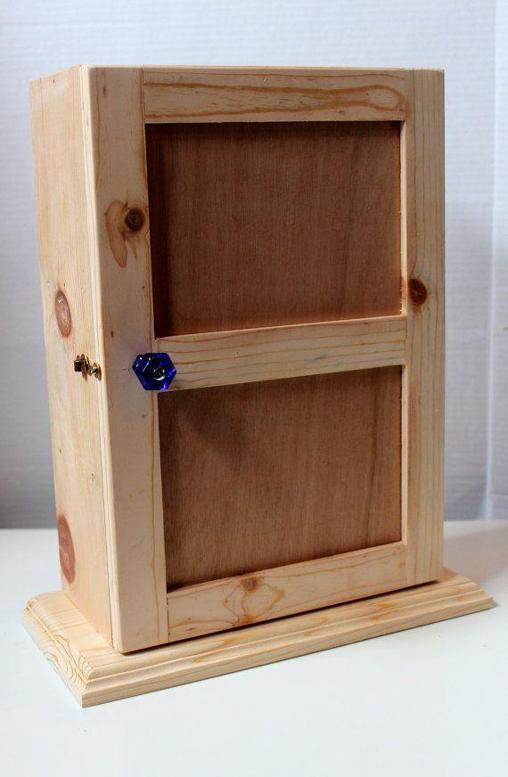 mini medicine cabinet shelf pine box by mrskristencreations rh pinterest com