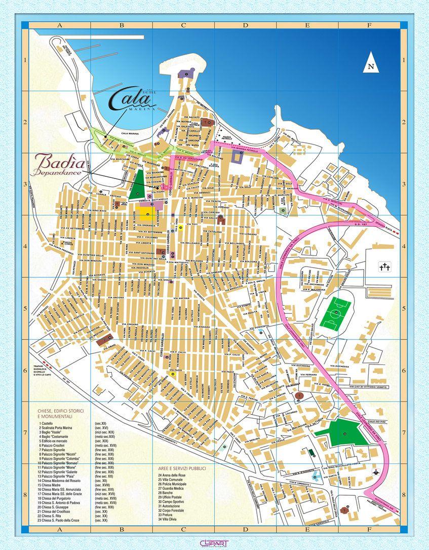 16++ Castellammare del golfo mappa ideas in 2021