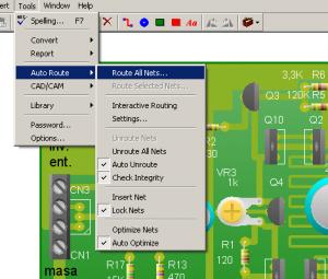 Indicaciones Para Generar El Autoruteo Circuitos Impresos Circuitos Aprender Electronica