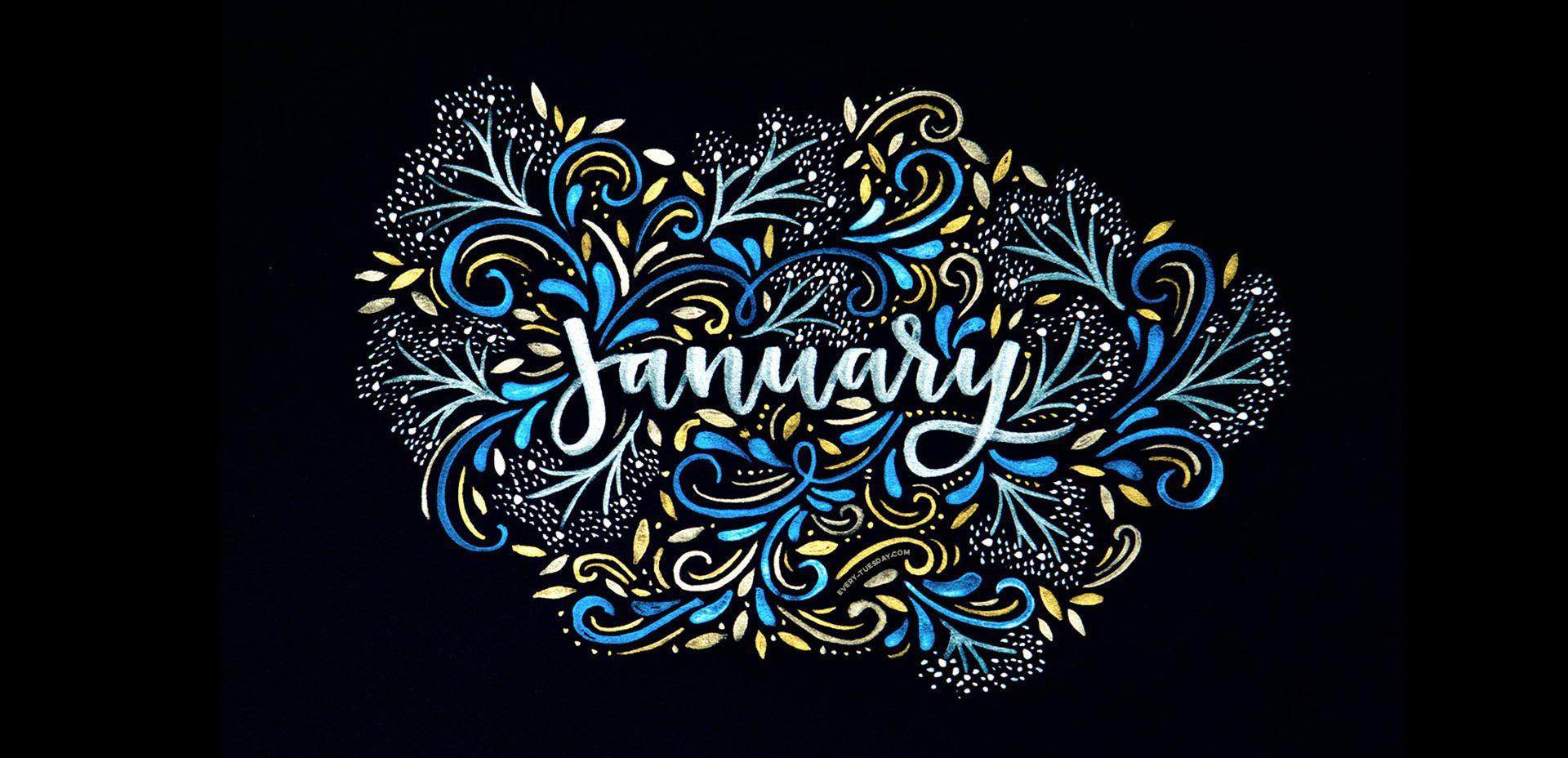 Freebie January 2017 Desktop Wallpapers January