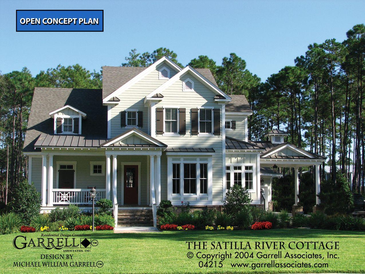 Satilla River Cottage House Plan 04215 Front