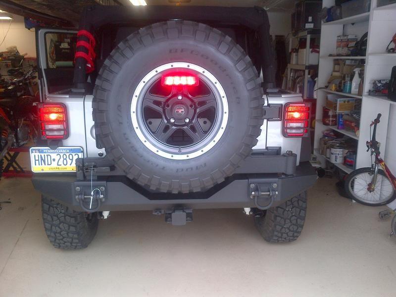 Awesome Jeep Wrangler Third Brake Light Relocation