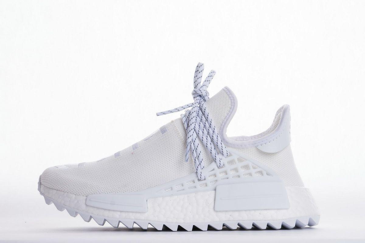 ec19df13c Pharrell x adidas NMD Hu Trail Holi Triple White Real Boost1 Pharrell x  adidas NMD Hu Trail Blank Canvas February 23