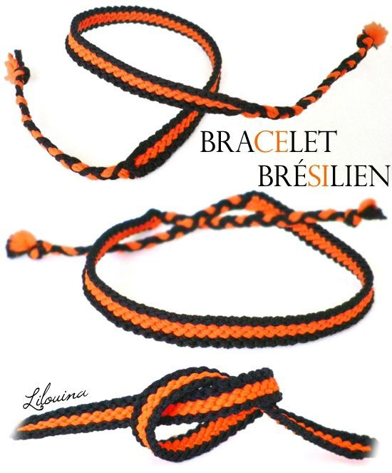 tuto bracelets br siliens fait maison par lilouina crafts pinterest bracelets. Black Bedroom Furniture Sets. Home Design Ideas