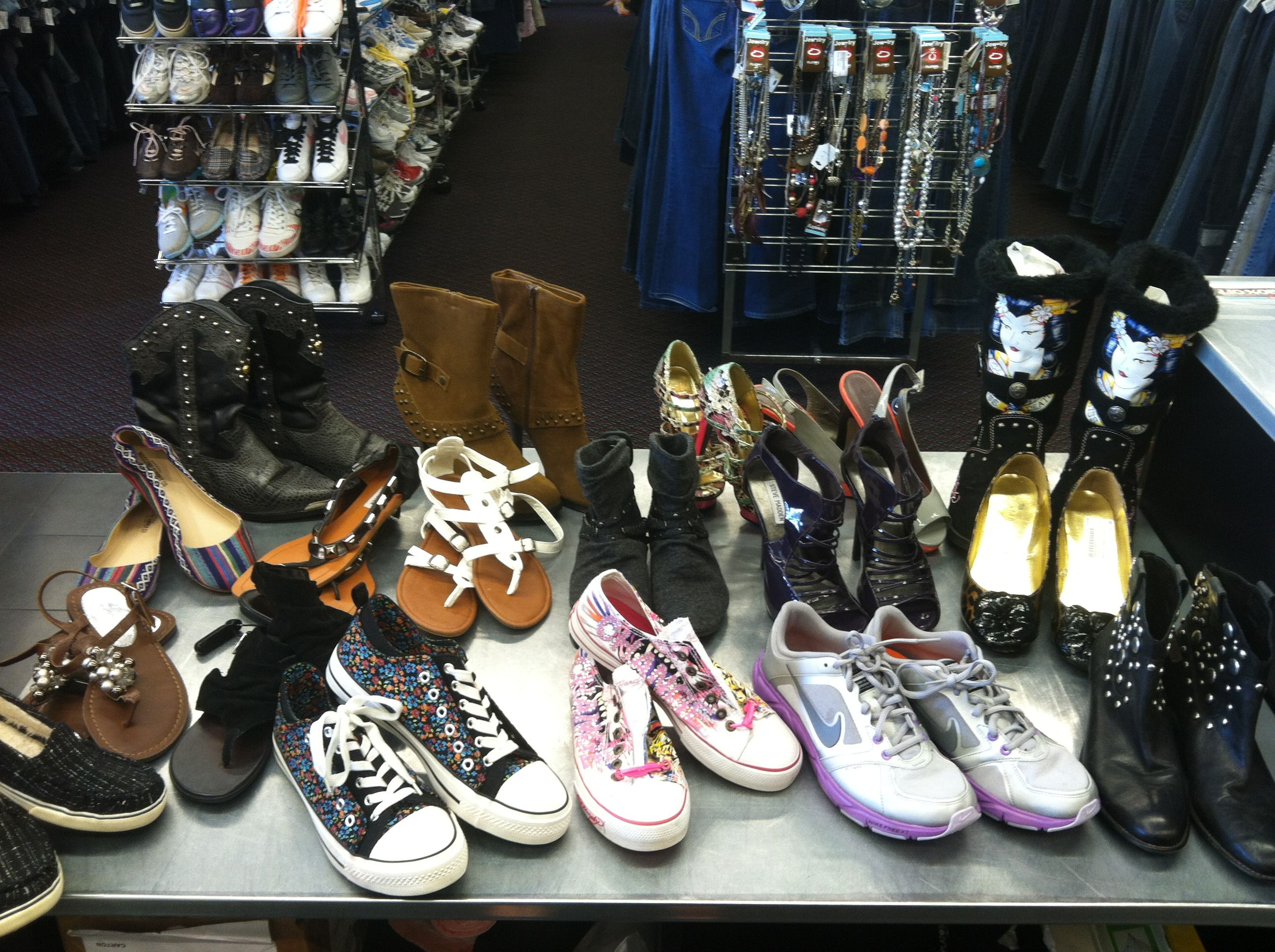 Plato S Closet Has All The Shoes You Re Looking Forward Short Boots Tennis Shoes Sandals And More Short Boots Tennis Shoes Shoes