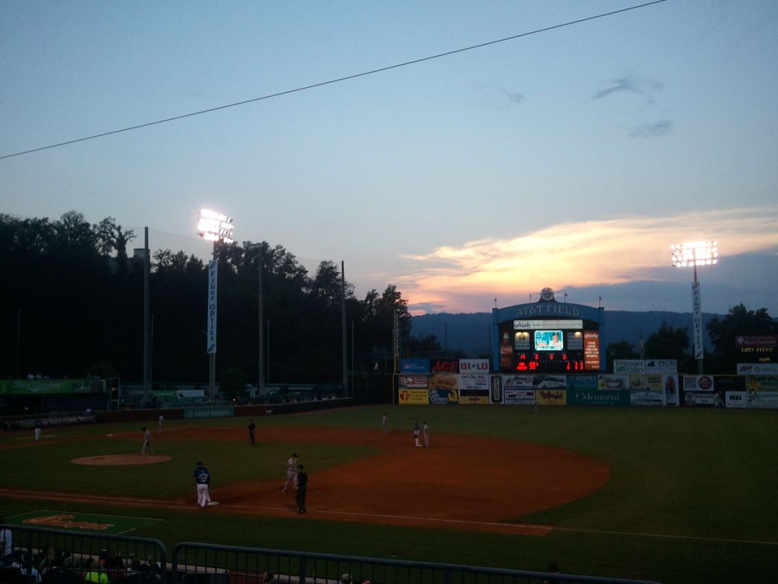 Lookouts Game AT&T Field Chattanooga, TN Minor league
