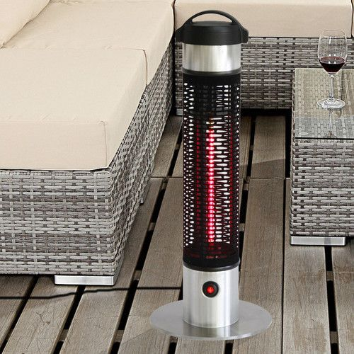 1000 watt electric patio heater deck living patio heater patio rh pinterest com