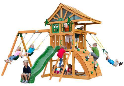 Gorillaplaysets Home Outdoor Playground Garden Patio