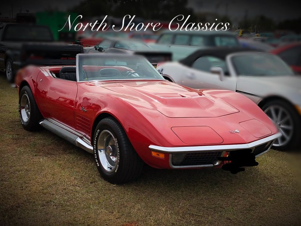 Used 1970 Chevrolet Corvette Stingray Convertible 4 Speed With Side Pipes Mundelein Il Chevrolet Corvette Corvette Chevrolet Corvette Stingray