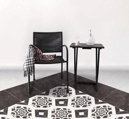 Carrelage en grès émaillé blanc pour sol intérieur L 32,5 cm l 32 - brico carrelage salle de bain