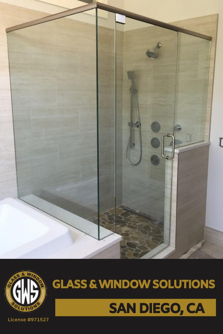 Semi Frameless Glass Shower Framed Shower Enclosures Glass Shower Shower Installation