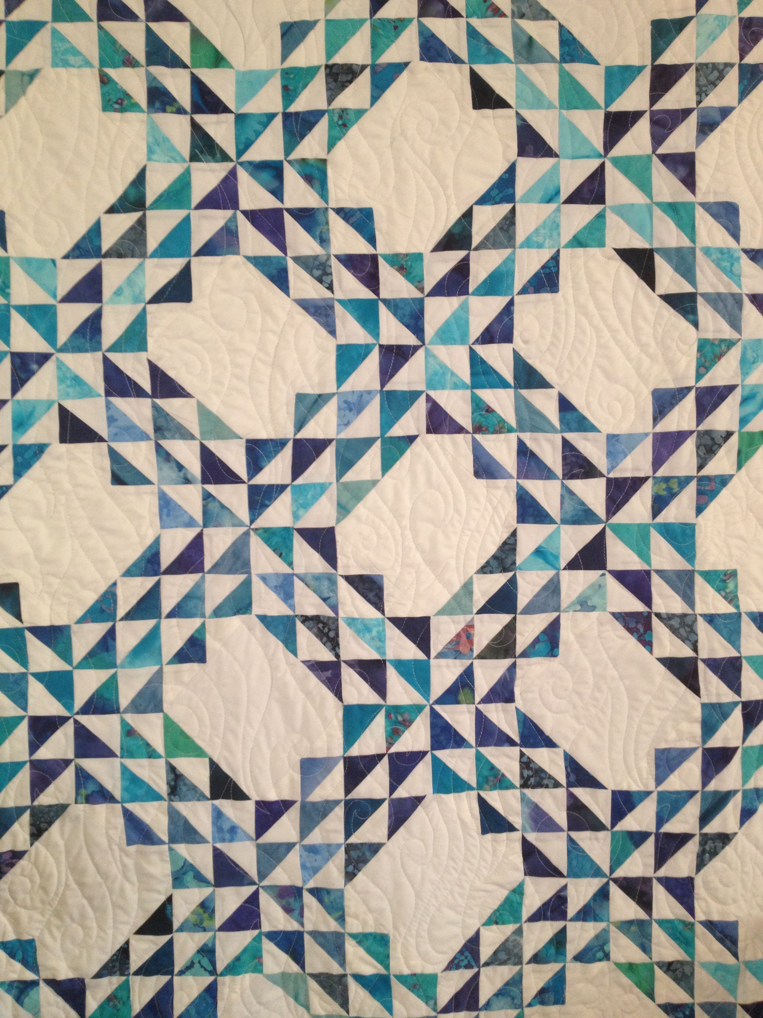 1000 Images About Ocean Waves Quilts On Pinterest