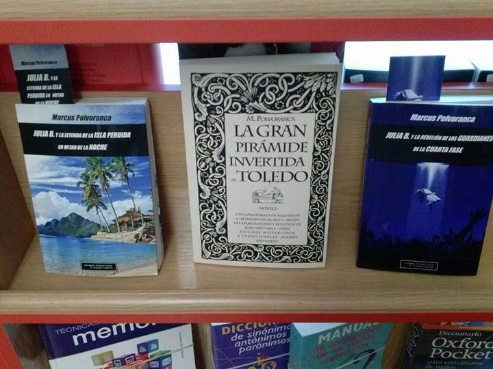 Libros del escitor Marcus Polvoranca.
