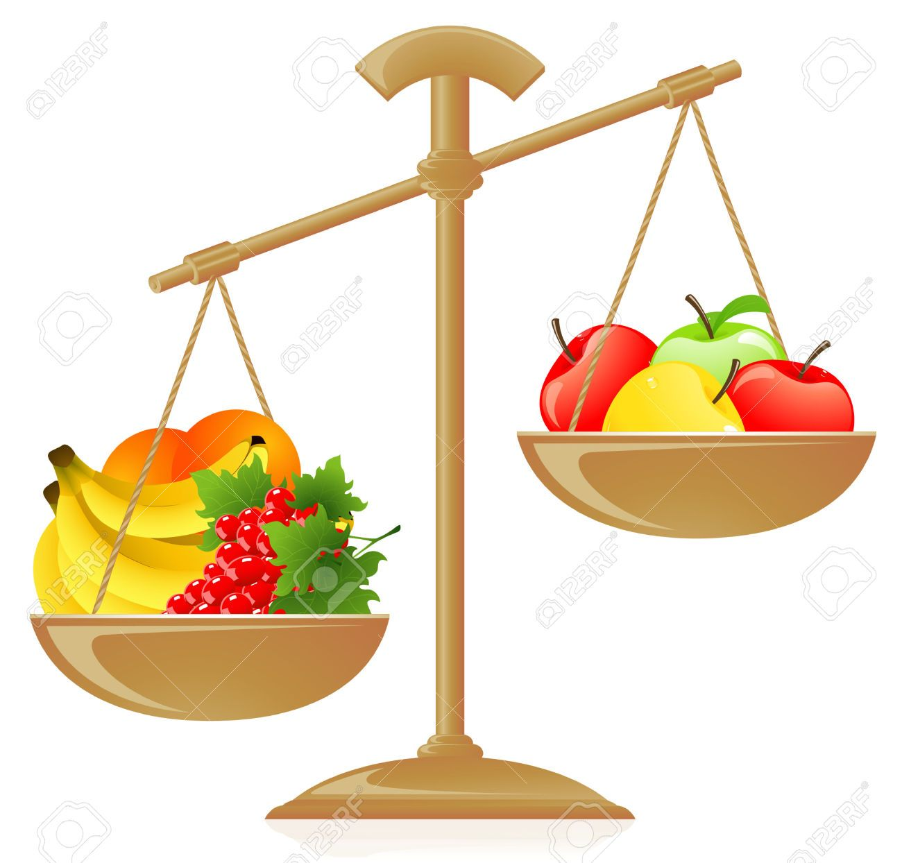 Balance Scale Weights