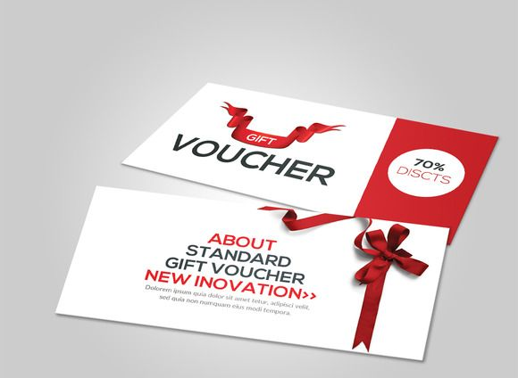 Flexible Gift Voucher Template Template, Business and By - gift voucher template