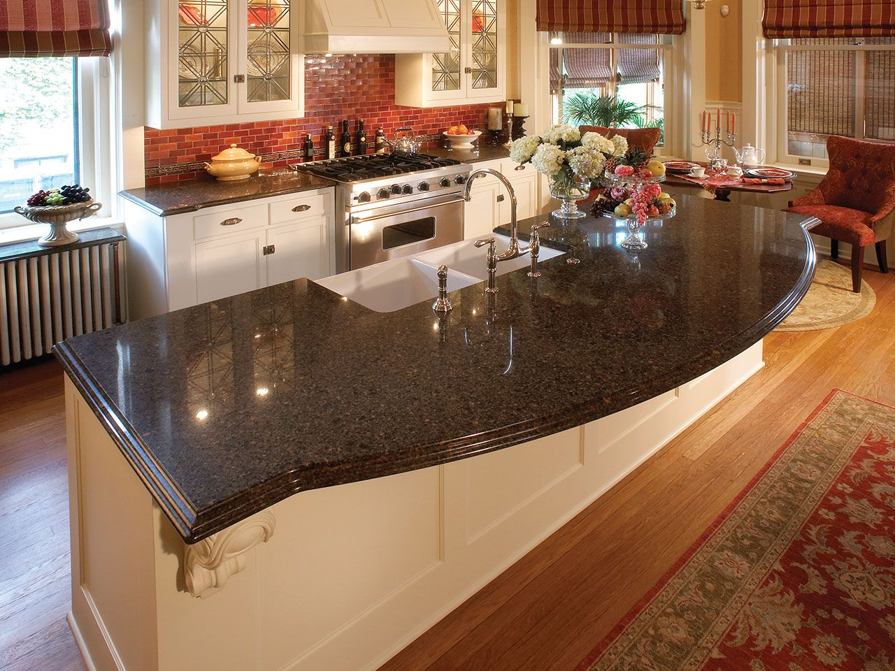 Featured Design Nottingham By Cambria A Bold Backsplash Is