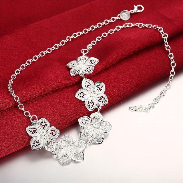 28a5d477077a Plata al por mayor de joyería de moda colgantes Cadenas