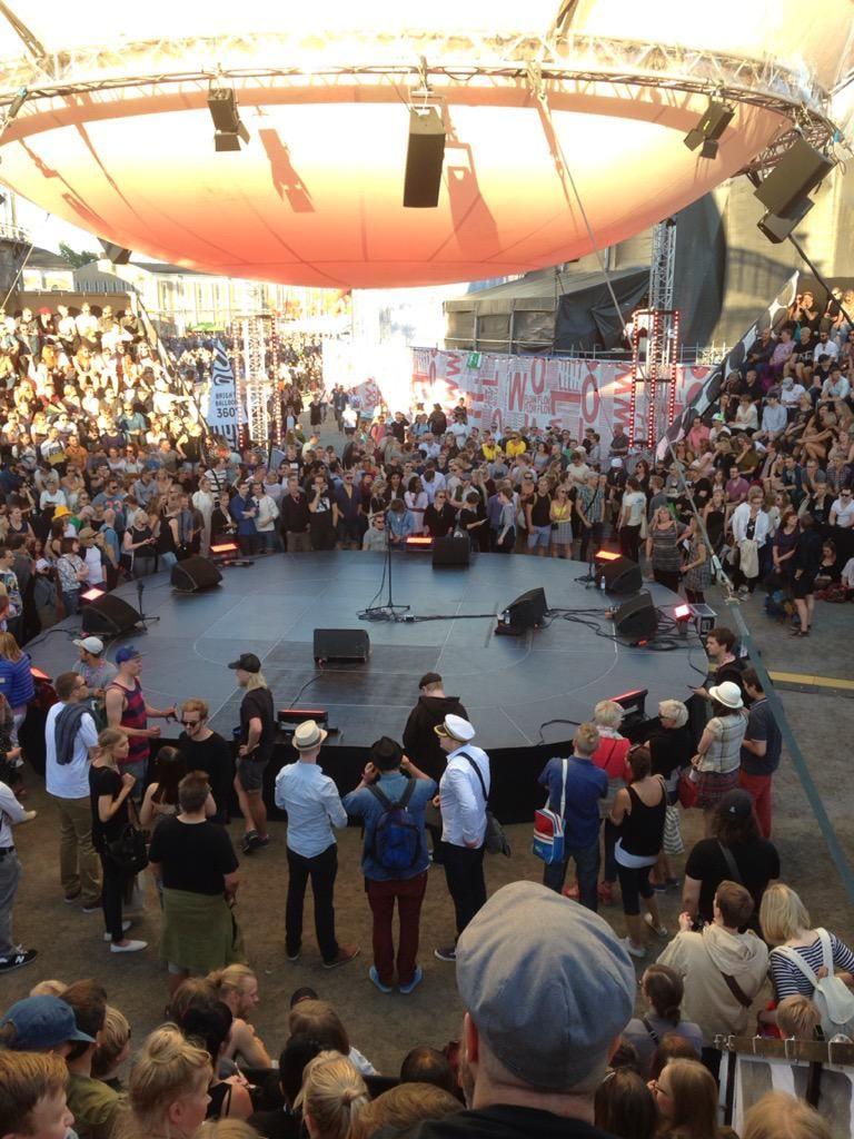 @flowfestival :n symppiksin lava #bright balloon360 #tapahtumat #tapahtumatohtori