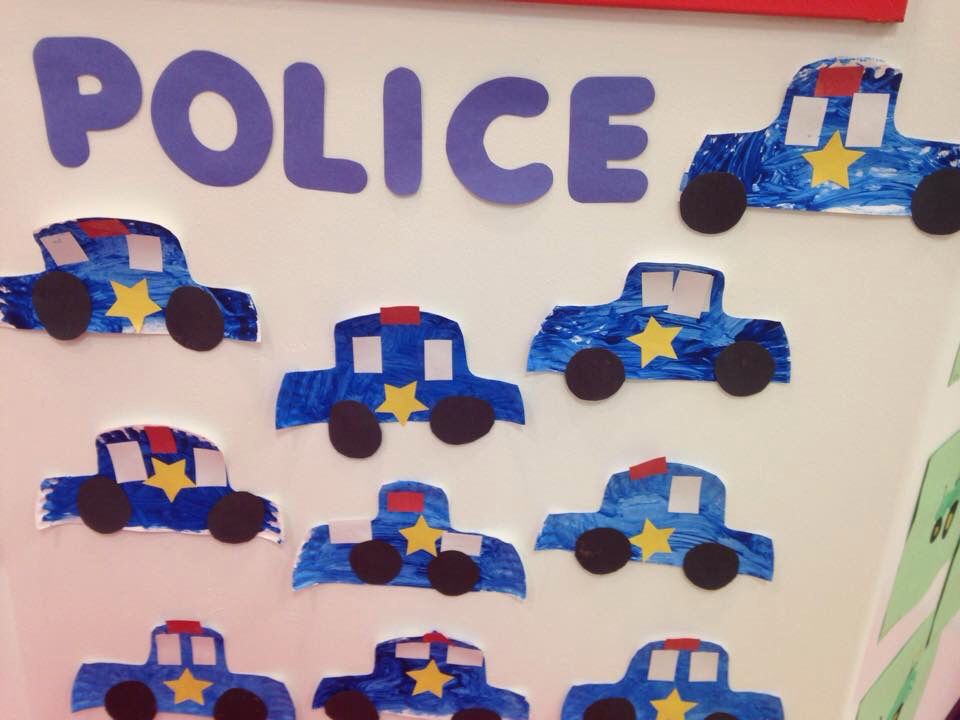 Paper plate police cars  sc 1 st  Pinterest & Paper plate police cars | Daycare crafts and bulletin boards ...