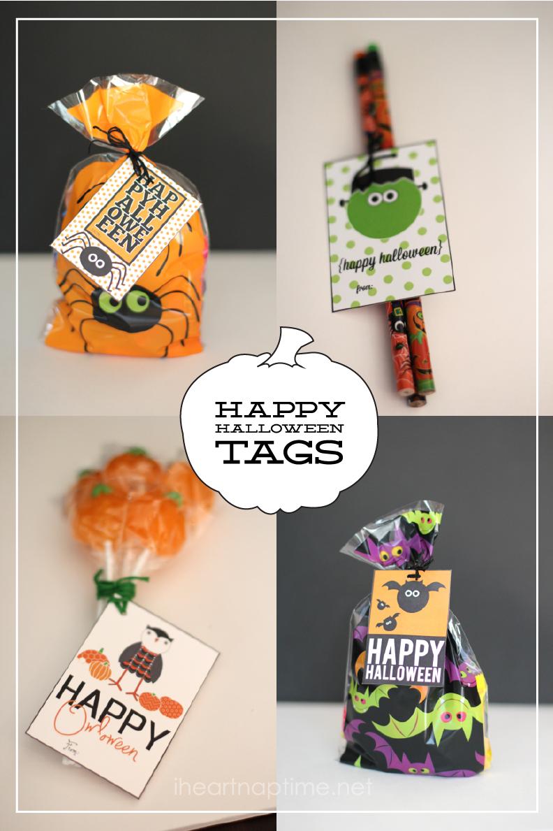 happy halloween tags free printable halloween halloween tags rh pinterest com