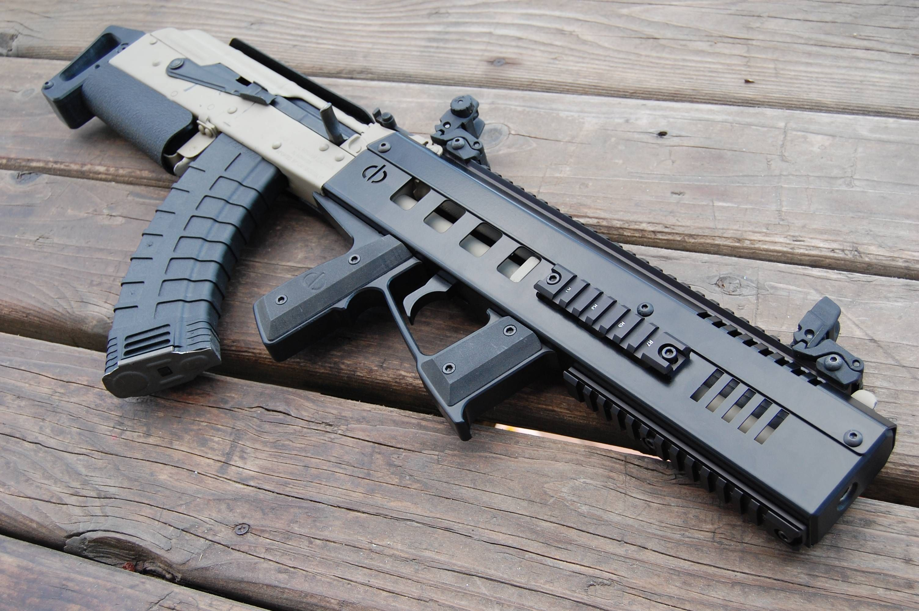 Budget Bullpup AK: WASR-10 in CBRPS AK Spike X1S Chassis