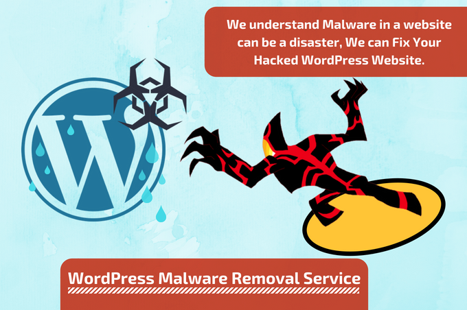 Is your WordPress website infected with Malware and your