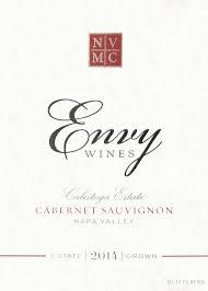 Envy Estate Cabernet Sauvignon 2014. Used in meat tomato