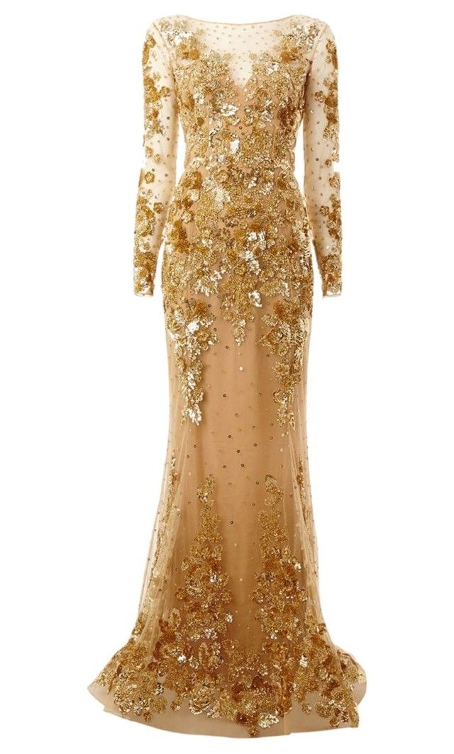 """""""Untitled #27"""" by shmaby ❤ liked on Polyvore featuring Zuhair Murad"""