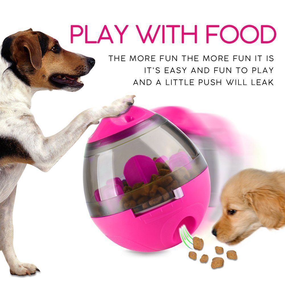 Ecvv Pet Food Ballinteractive Treat And Dispenser Balls For Dogs