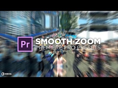 Smooth Zoom Transition Free Preset for Premiere Pro Tutorial