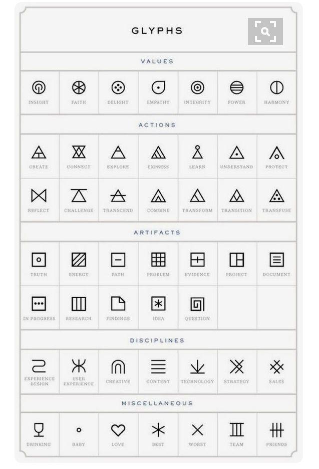 Geometric Tattoo Glyphs Random Tatouage Tatouage Geometrique