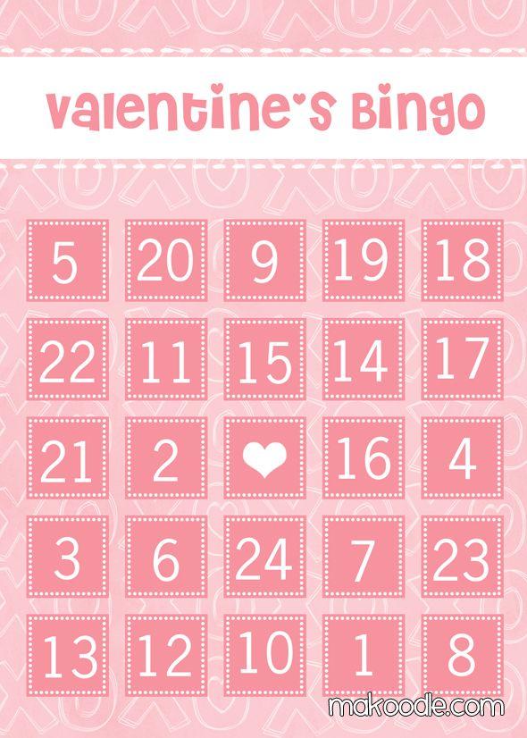 xoxo valentine 39 s bingo cards free printable valentine 39 s day valentines valentine bingo. Black Bedroom Furniture Sets. Home Design Ideas