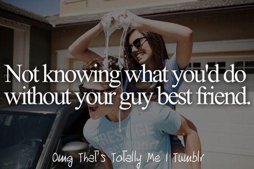 Girl guy best friend tumblr