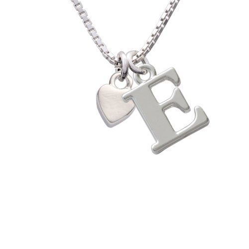 AmazonCom Sweetheart Heart Initial Charm Necklace Size