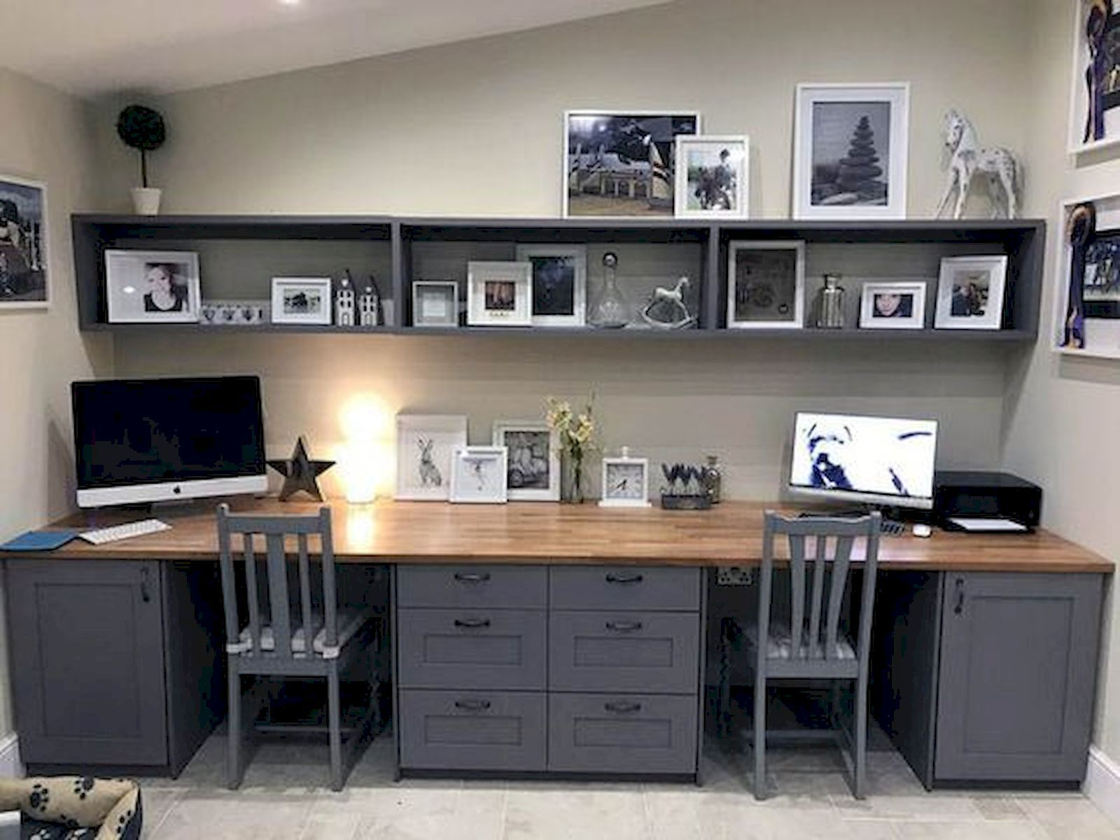 The Best Home Office Farmhouse Ideas Office Cabinet Design Office Desk Designs Basement Home Office