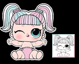 Desenhos Para Imprimir E Colorir Lol Supresa Bonecos De Lol