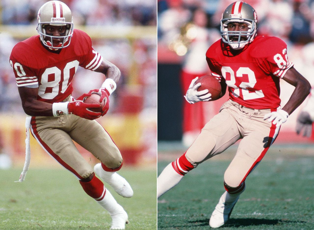 Best Receiving Tandems Of All Time 49ers Pictures Nfl 49ers Football