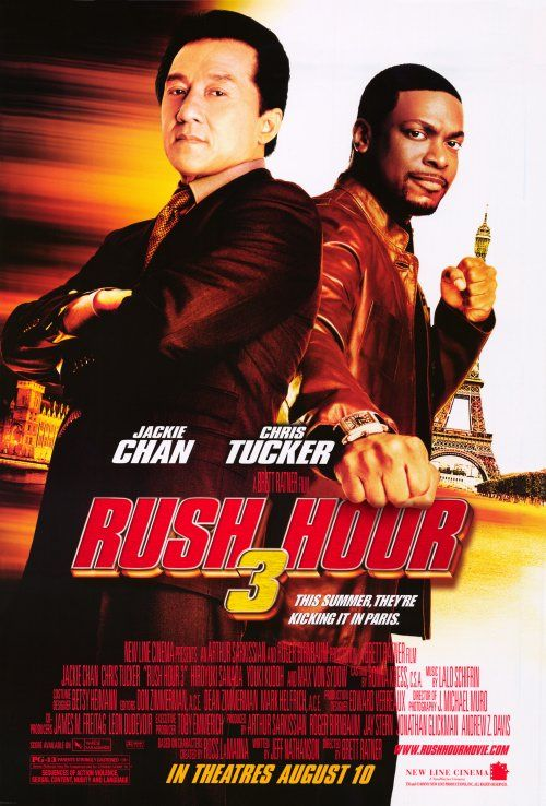 Rush Hour 3 Movie Poster 2007 1020402369 Jpg 500 738 Rush Hour