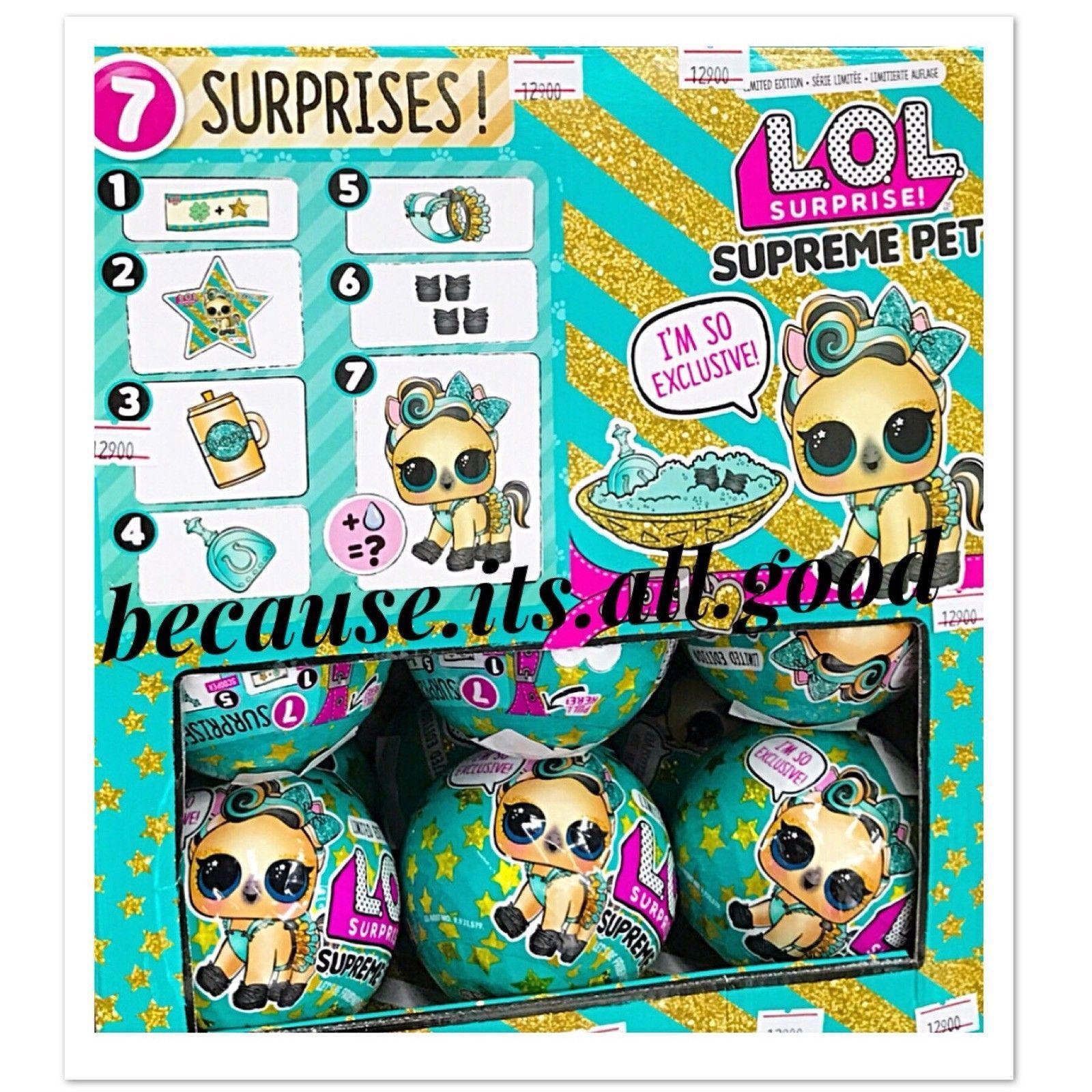1 Lol Surprise Limited Edition Supreme