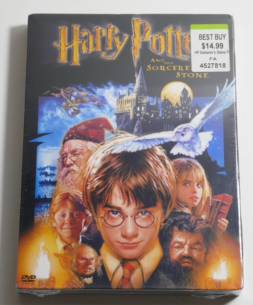Harry Potter And The Sorcerers Stone Dvd 2002 2 Disc Set Full